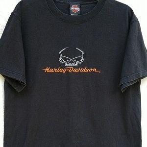 Harley Davidson Skull T-shirt Black (M)